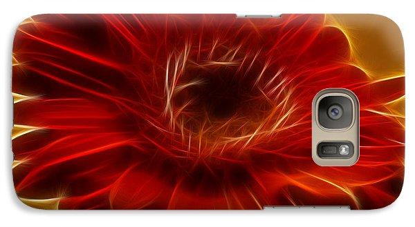 Gerbia Daisy Galaxy S7 Case by Bill Barber