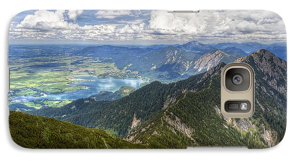 Galaxy Case featuring the photograph German Alps View I by Juergen Klust
