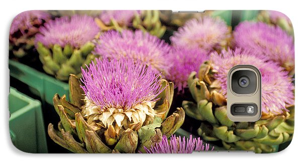 Germany Aachen Munsterplatz Artichoke Flowers Galaxy S7 Case by Anonymous