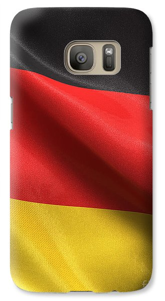 Galaxy Case featuring the photograph Germany Flag by Carsten Reisinger