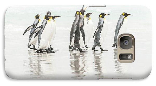 Penguin Galaxy S7 Case - Get Lost ! by Usha Peddamatham