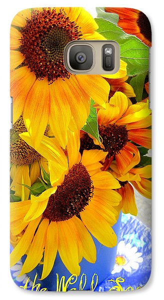 Galaxy Case featuring the photograph Get To The Well Soon by Kathy Bassett