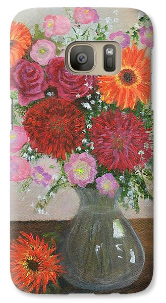 Galaxy Case featuring the painting Get Well Flowers by Catherine Hamill