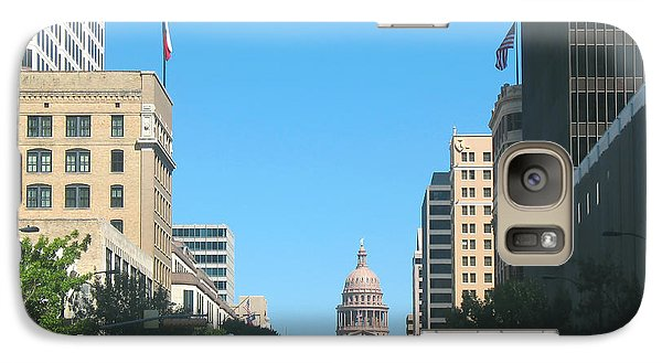 Galaxy Case featuring the photograph Getting Around In Austin Texas by Connie Fox