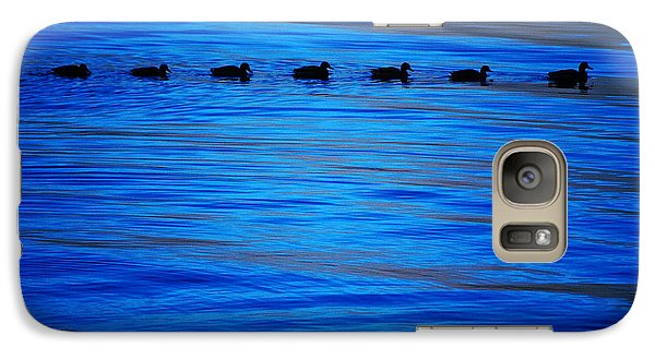 Galaxy Case featuring the photograph Getting Your Ducks In A Row by Cynthia Lagoudakis