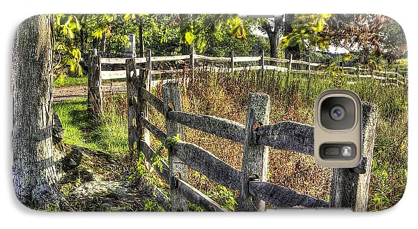 Galaxy Case featuring the photograph Gettysburg At Rest - Late Summer Along The J. Weikert Farm Lane by Michael Mazaika