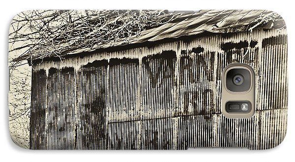 Galaxy Case featuring the photograph Ghost Barn by Greg Jackson