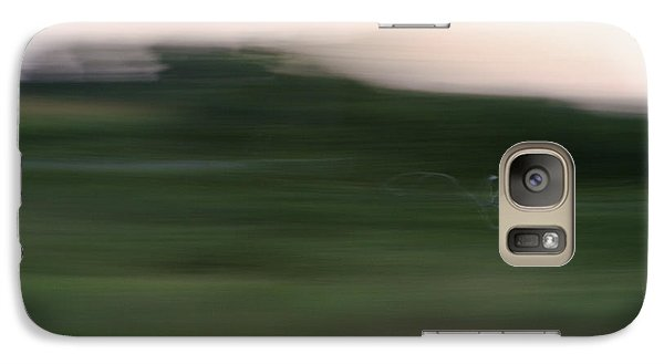 Galaxy Case featuring the photograph Ghost Flight - Motion Art Print by Jane Eleanor Nicholas