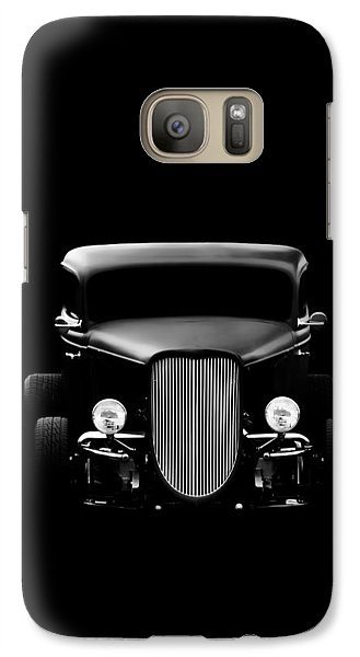 Vintage Car Galaxy Case featuring the photograph Ghost Of '36 by Aaron Berg