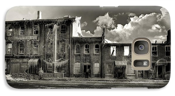 Galaxy Case featuring the photograph Ghost Of Our Town by Jaki Miller