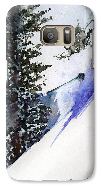 Galaxy Case featuring the painting Ghost Of Tahoe Past by Ed  Heaton