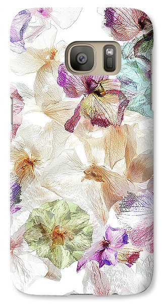 Orchid Galaxy S7 Case - Ghost Orchids by Ludmila Shumilova