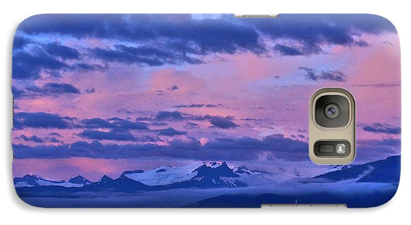 Galaxy Case featuring the photograph Ghost Ship Of The Sound by Cynthia Lagoudakis
