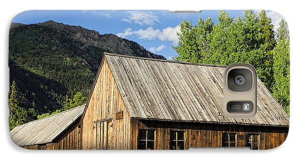 Galaxy Case featuring the photograph Ghost Town Barn And Stable by Lincoln Rogers