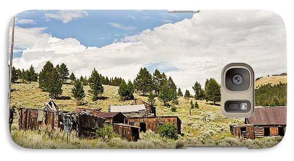 Galaxy Case featuring the photograph Ghost Town In Summer by Sue Smith