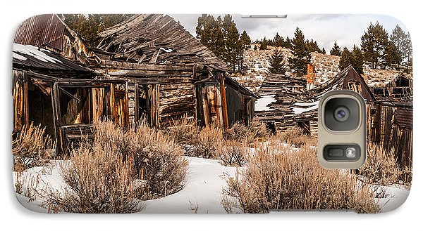 Galaxy Case featuring the photograph Ghost Town by Sue Smith