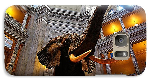 Galaxy Case featuring the photograph Giant Elephant  by John S