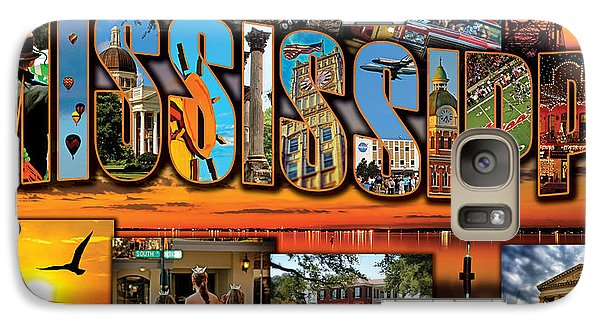 Galaxy Case featuring the photograph Giant Mississippi Postcard by Jim Albritton