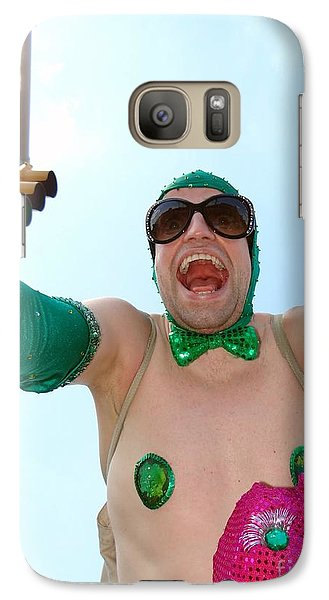 Galaxy Case featuring the photograph Giant Smile by Ed Weidman