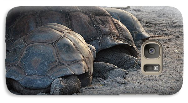 Galaxy Case featuring the photograph Giant Tortise by Robert Meanor