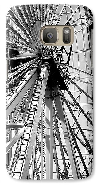 Galaxy Case featuring the photograph Giant Wheel by Mary Beth Landis