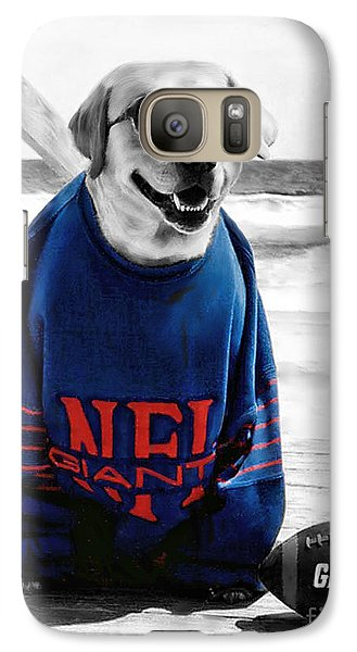 Galaxy Case featuring the photograph Giants Fan by Sami Martin