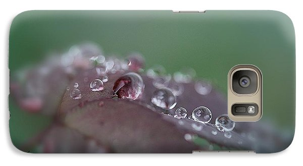 Galaxy Case featuring the photograph Gift From The Rain by Yumi Johnson