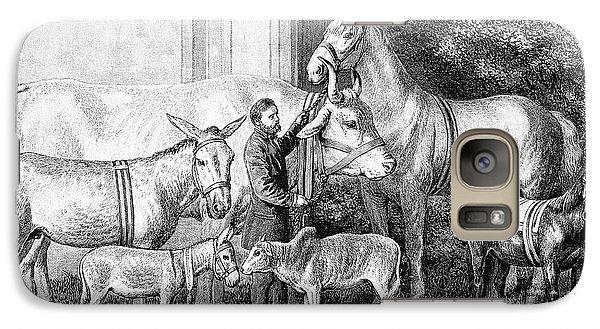 Gigantism And Dwarfism In Farm Animals Galaxy S7 Case by Bildagentur-online/tschanz
