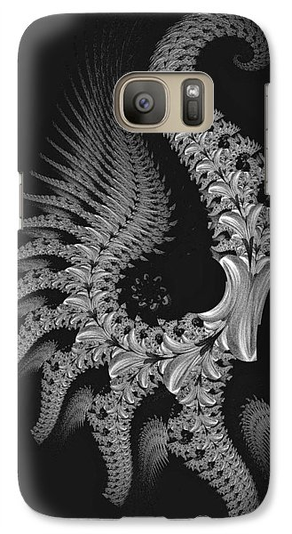Galaxy Case featuring the digital art Gigeresque by Lea Wiggins