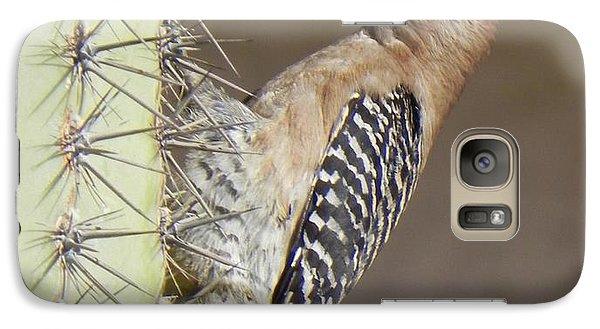 Galaxy Case featuring the photograph Gila Woodpecker by Deb Halloran