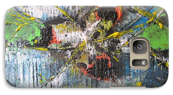 Galaxy Case featuring the painting Gimme Moore by Lucy Matta