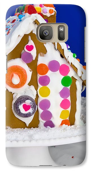 Galaxy Case featuring the photograph Gingerbread House by Vizual Studio