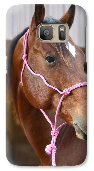 Galaxy Case featuring the photograph Gingers Beauty by Laura DAddona