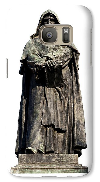 Galaxy Case featuring the photograph Giordano Bruno by Fabrizio Troiani