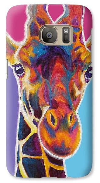 Giraffe - Marius Galaxy Case by Alicia VanNoy Call