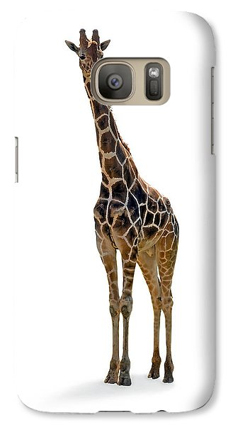 Galaxy Case featuring the photograph Giraffe by Charles Beeler