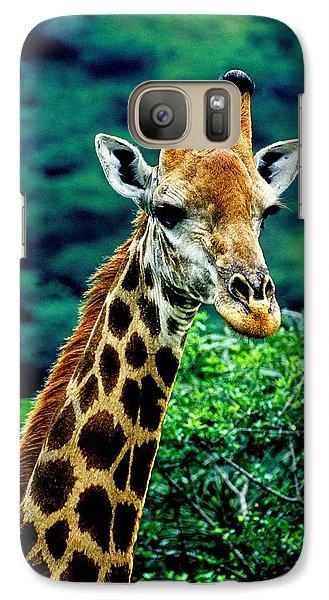 Galaxy Case featuring the photograph Giraffe by Dennis Cox WorldViews
