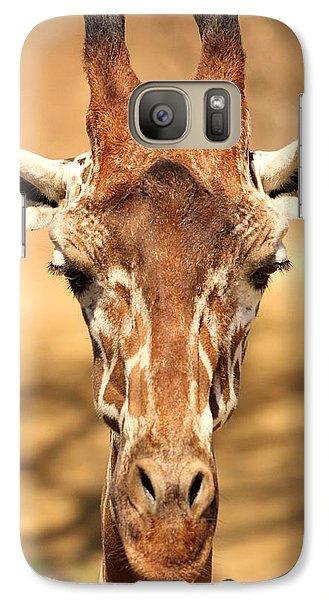 Galaxy Case featuring the photograph Giraffe by Elizabeth Budd