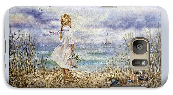 Pelican Galaxy S7 Case - Girl At The Ocean by Irina Sztukowski