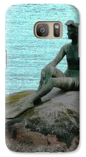 Galaxy Case featuring the photograph Girl In A Wetsuit by Patricia Januszkiewicz