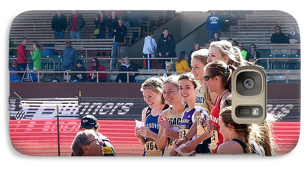 Girls 2012 Xc State Champions Galaxy S7 Case by Tom Roderick