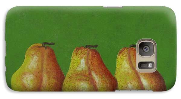 Galaxy Case featuring the painting Girl's Day Out by Cindy Lee Longhini