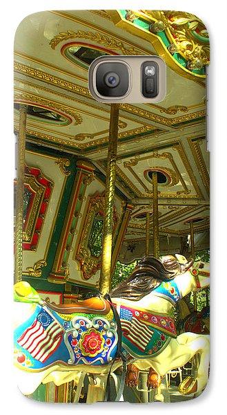 Galaxy Case featuring the photograph Girls' Dream by Rachel Mirror