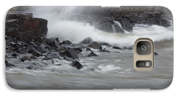 Galaxy Case featuring the photograph Gitche Gumee by Gerry Sibell