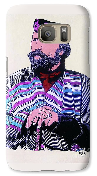 Galaxy Case featuring the painting Giuseppe Garibaldi by Roberto Prusso