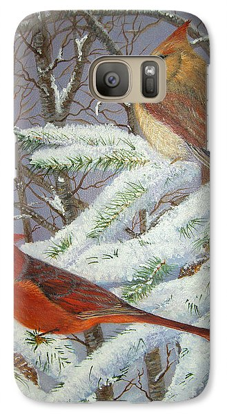 Galaxy Case featuring the painting Give Her Wings To Fly by Brenda Brown