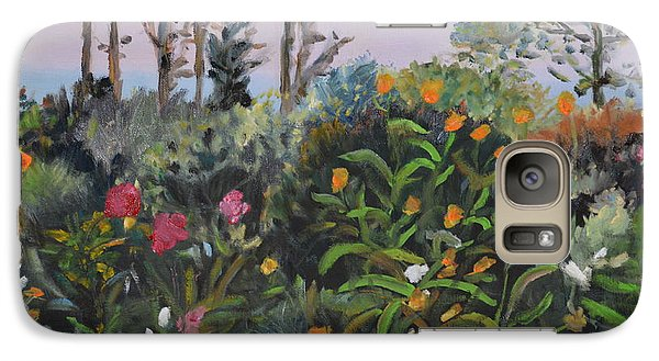 Galaxy Case featuring the painting Giverny 2 by Julie Todd-Cundiff