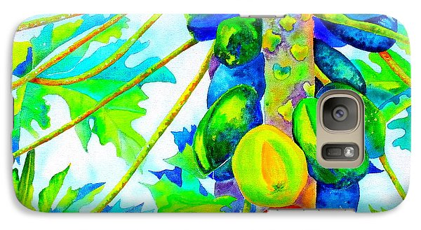 Galaxy Case featuring the painting Abundant Blessings by Julie  Hoyle