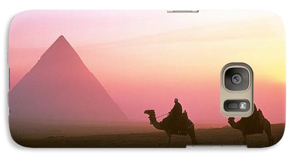 Giza Pyramids Egypt Galaxy S7 Case by Panoramic Images