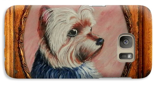 Galaxy Case featuring the painting Gizmo by Fram Cama